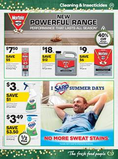 Woolworths Catalogue Cleaning Products 29 Nov - 5 Dec 2017