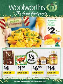 Woolworths Catalogue Deals 6 - 12 December 2017