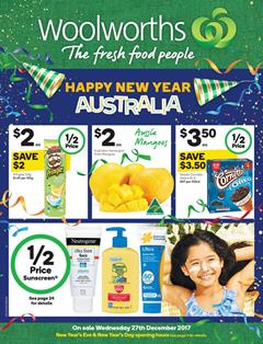 Woolworths Catalogue New Year 27 Dec 17 - 2 Jan 2018