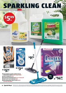 ALDI Catalogue Cleaning 31 January 2018
