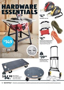 ALDI Catalogue Sale 20 January 2018