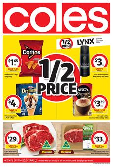 Coles Catalogue Deals 10 - 16 January 2018