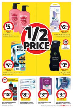 Coles Catalogue Personal Care 10 - 16 January 2018