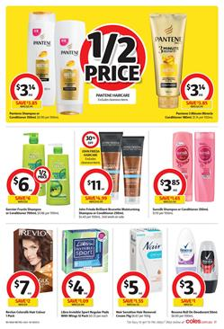 Coles Catalogue Personal Care 24 - 30 January 2018