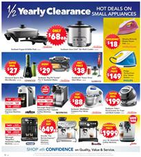 Harvey Norman Catalogue Kitchen Ware 1 - 21 January 2018