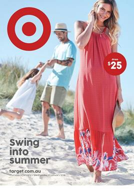 Target Catalogue Clothing 3 - 10 January 2018
