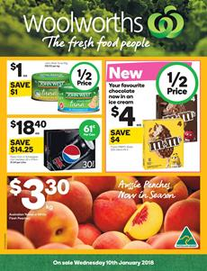 Woolworths Catalogue Deals 10 - 16 January 2018