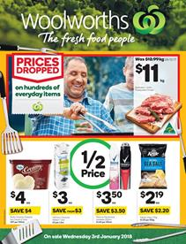 Woolworths Catalogue Deals 3 - 9 January 2018
