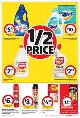 Coles Catalogue Cleaning 31 Jan - 6 Feb 2017