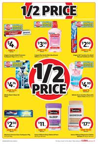 Coles Catalogue Half Prices 7 - 13 February 2018