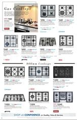 Harvey Norman Catalogue Cooktops 3 - 18 February 2018