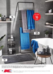 Kmart Catalogue Bathroom Products 1 - 21 February 2018
