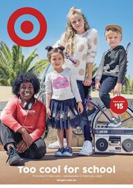 Target Catalogue Kids Clothing 15 - 21 February 2018