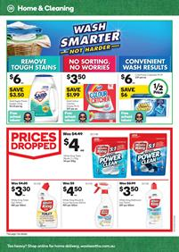 Woolworths Catalogue Cleaning 31 Jan - 6 Feb, 2018