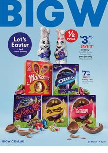 Big w catalogue 18 apr 2 may 2018 big w catalogue has a big easter sale this week celebrate easter with these awesome candies and traditional products there are pretty good offers in candy negle Choice Image