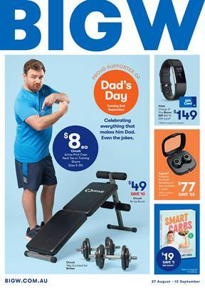 9e0749c3 Big W Catalogue Clothing Father's Day Sale
