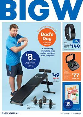 Big W Catalogue Father S Day 27 Aug 12 Sep 2018
