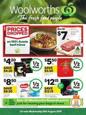 Woolworths Catalogue Deals 15 21 August 2018