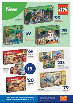 Big W Catalogue LEGO Sets and New Toys