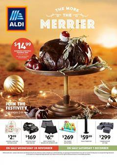 Aldi Catalogue 28 November 2018 Christmas Sale