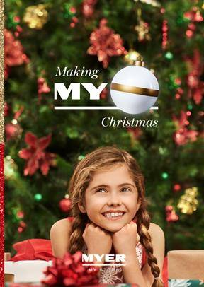 Myer Catalogue Christmas Trees 30 Oct 24 Dec 2018