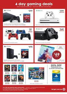 Gaming And Tech Deals Are Valid For 4 Days. This Is One Of The Best Prices  Of The Year. You Must Not Miss Out These Deals On Xbox One And PlayStation  4.