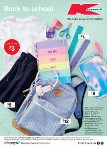 4cc45f5895a Kmart Catalogue Back to School 10-30 January makes it easy to shop high  quality products at low prices. The stationary part of this catalog has a  wonderful ...