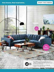 Freedom Furniture Catalogue Living Room February 2019