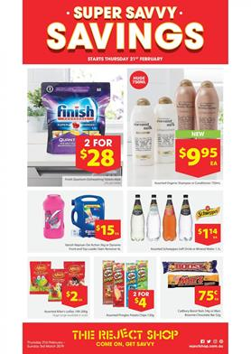 Reject Shop Catalogue Homeware 21 Feb 3 Mar 2019