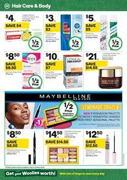 c76381286b302 This is an awesome sale full of half prices. In the new catalogue, you can  see the new half prices. Popular brands like Maybelline NY, L Oreal Men  expert, ...