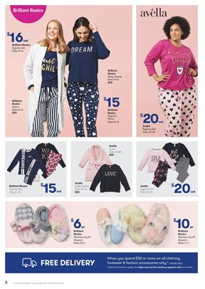 090ab94817d2a Pyjama sets, women's scuff slippers, Batman coverall, slipper boots, and  more for kids and grown-ups are available in this part of the Big W  Catalogue.