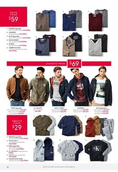 a86a2fc513b You have really good options from men's clothing collection of the latest  Myer Catalogue. Find classic, cosy, and premium quality knitwear for men.