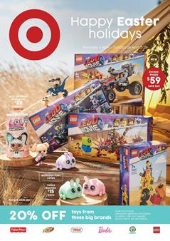 Target Catalogue LEGO Easter Sale 4 - 28 Apr 2019