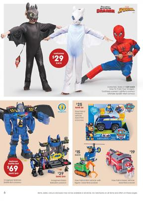 fc9780a9f Join the action as Spider-Man or How to Train Your Dragon costumes from Target  Catalogue. This week, you have nice deals on costumes as well as toys.