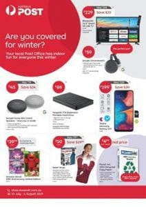Australia Post Catalogue | Mailing, Mobile Services and New