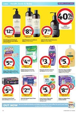 Coles Catalogue Garnier Half-Price 31 Jul 2019