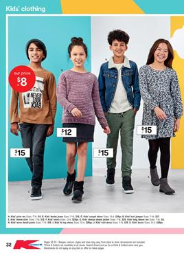 f8108c117 This is the final part of the latest Kmart Catalogue toy sale. You can  browse the deals on casual kids' clothing products on pg 32-33.