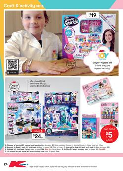 740339408 You can watch the videos by kids who reviewed these toys. Craft and  Activity sets are a part of the latest Kmart Catalogue toy sale 27 Jun - 24  Jul.