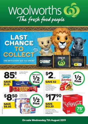 Woolworths Catalogue 14 - 20 Aug 2019   Grocery, Half Prices