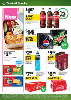 Woolworths Catalogue 11 - 17 Sep 2019 | Grocery, Half Prices