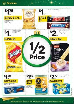 Woolworths Mountain Dew Half Price And More
