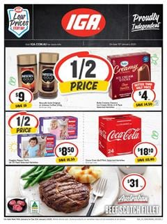 IGA Catalogue Deals 15 Jan 2020 | Grocery, 3-Day Sale, And More
