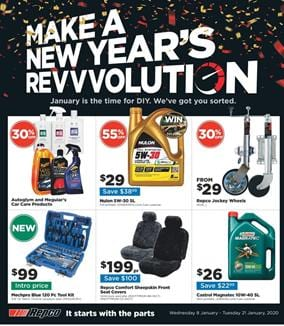 Repco Catalogue 30% off Car Care Deal