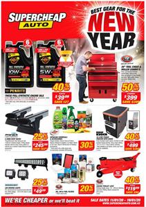 Supercheap Auto Catalogue Deals 11 - 19 Jan