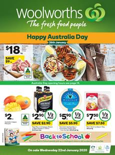 Woolworths Catalogue Deals 22 - 28 Jan 2020