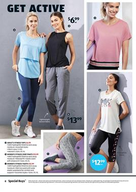 ALDI Catalogue Activewear Deals 22 Feb 2020