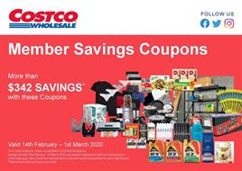 Costco Catalogue Coupons Mar 2020