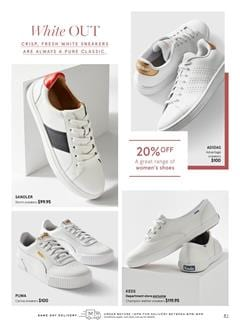 Myer Catalogue Sneaker Shoes Feb 2020