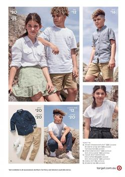 Target Catalogue Kids Clothing 13 - 26 Feb 2020