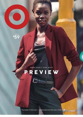 Target Preview Clothing 13 - 26 Feb 2020